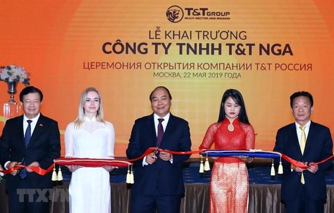 Grupo vietnamita T&T fomenta cooperación con socios rusos - ảnh 1