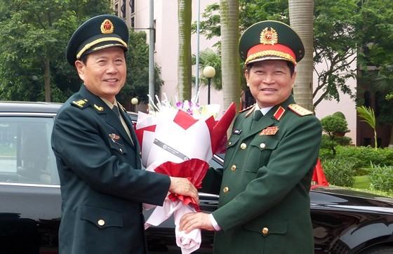Vietnam y China refuerzan cooperación en defensa - ảnh 1