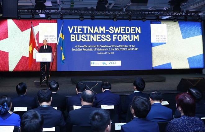 Foro Empresarial Vietnam-Suecia confirma la cooperación multisectorial entre ambos países - ảnh 1