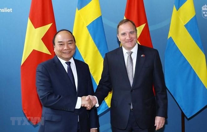 Suecia apoya la pronta firma de acuerdos entre Vietnam y la Unión Europea  - ảnh 1