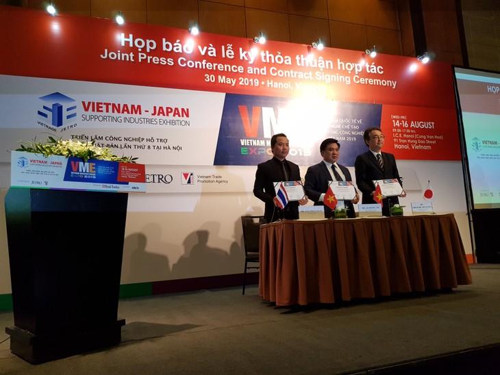 Vietnam será sede de dos ferias industriales importantes en 2019 - ảnh 1
