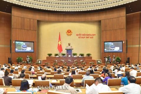 Parlamento vietnamita interpela a altos dirigentes sobre el control de propiedad inmobiliaria  - ảnh 1