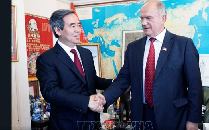 Partidos comunistas de Vietnam y Rusia consolidan cooperación  - ảnh 1