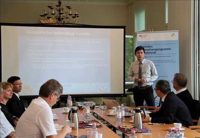 Vietnam y Alemania fomentan cooperación en emprendimiento innovador - ảnh 1