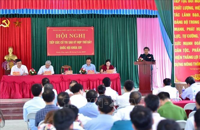 Vicejefa parlamentaria se reúne con electores de región norteña - ảnh 1