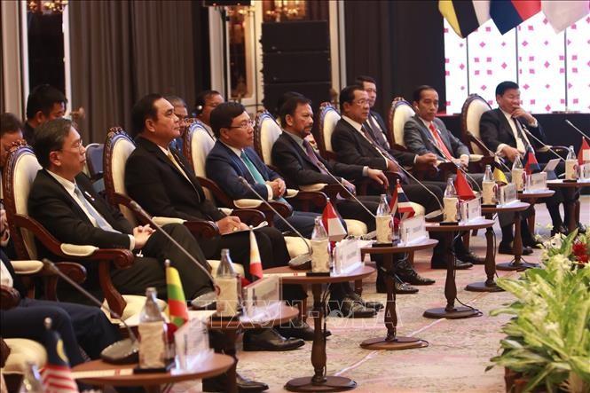 Realizan reuniones de altos líderes de la Asean  - ảnh 1