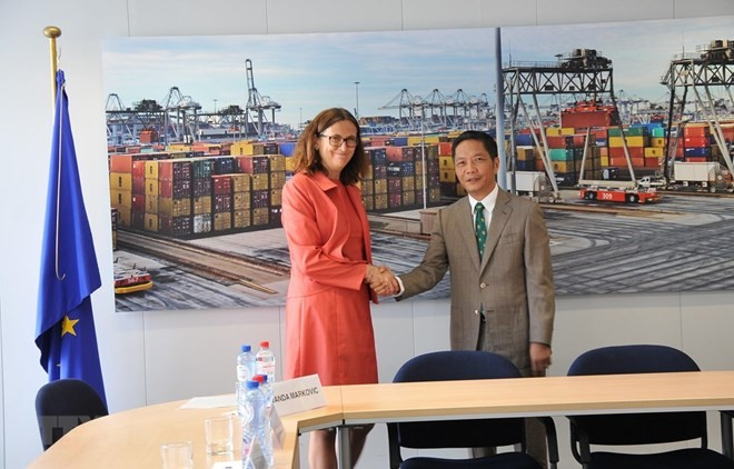Vietnam y la Unión Europea firmarán acuerdo de libre comercio el 30 de junio - ảnh 1