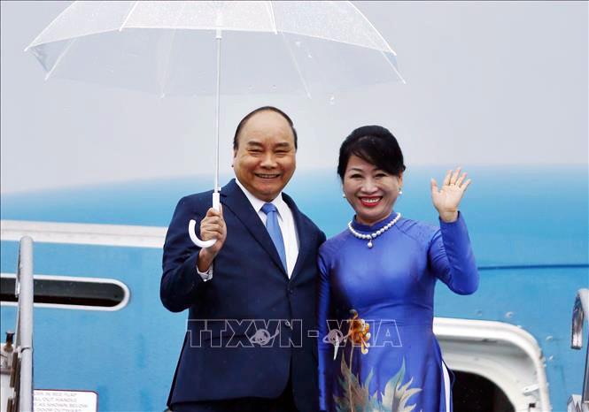 Jefe del Gobierno vietnamita arriba a Japón para asistir a la Cumbre del G20 - ảnh 1