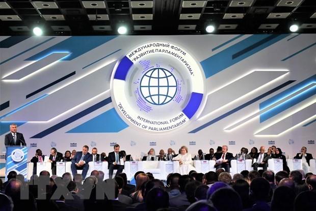Vietnam aporta al Foro de Desarrollo del Sistema Parlamentario en Rusia - ảnh 1