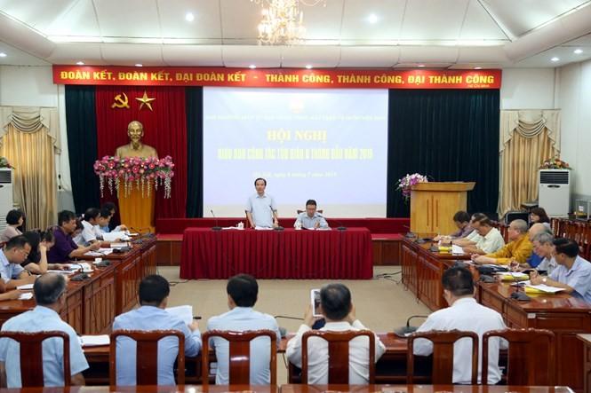 Avanzan actividades religiosas de Vietnam en primera mitad de 2019 - ảnh 1
