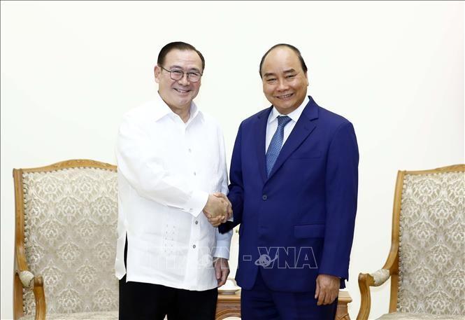 Canciller filipino conversa con su par vietnamita sobre cooperación multisectorial - ảnh 2