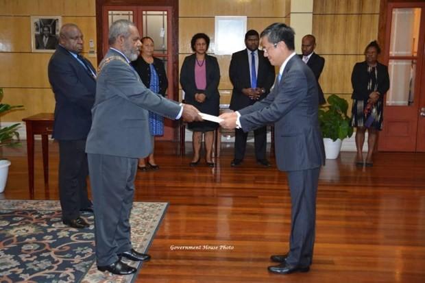 Vietnam y Papúa Nueva Guinea fomentan relaciones - ảnh 1