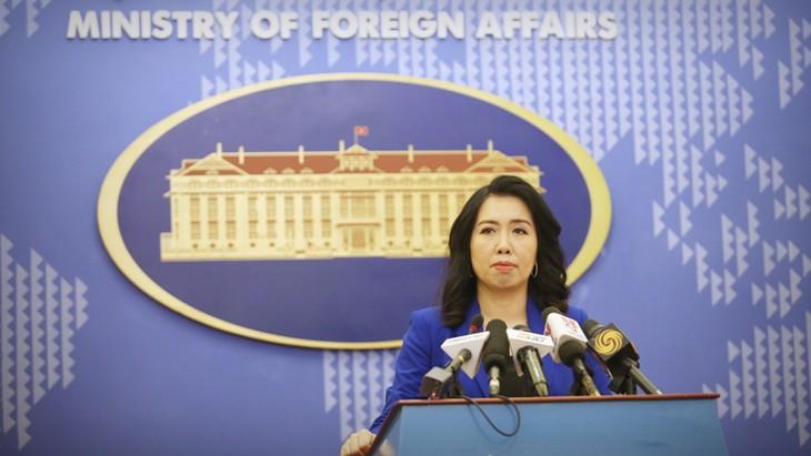 Cancillería vietnamita aborda temas importantes en última reunión semanal de julio  - ảnh 1