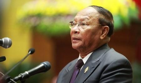 Jefe del Parlamento camboyano inicia visita a Vietnam  - ảnh 1