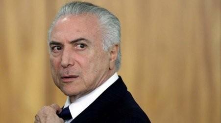 Presentan una acusación formal de corrupción contra el presidente brasileño Michel Temer  - ảnh 1