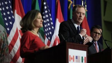 Los tres países norteamericanos empiezan la quinta ronda de negociaciones de TLCAN - ảnh 1