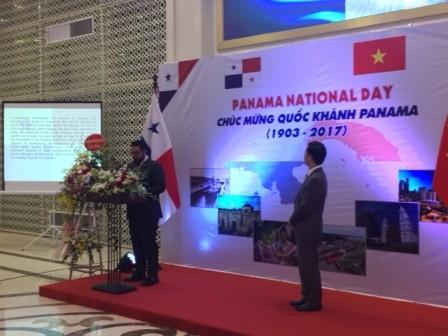 Conmemoran en Vietnam el Día Nacional de Panamá  - ảnh 2