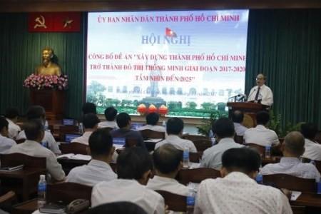 Ciudad Ho Chi Minh por convertirse en una urbe inteligente  - ảnh 1