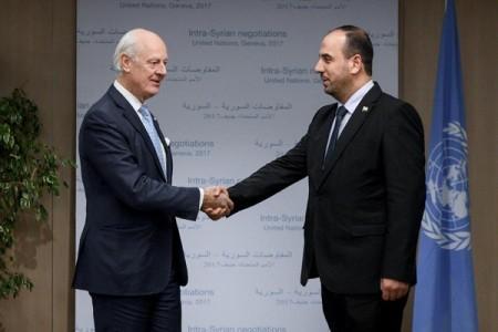Las conversaciones sirias en Ginebra continuarán hasta el 15 de diciembre - ảnh 1