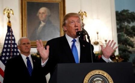 Estados Unidos reconoce Jerusalén como capital israelí - ảnh 1
