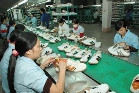 Industria del calzado de Vietnam espera un alto crecimiento en 2018  - ảnh 1