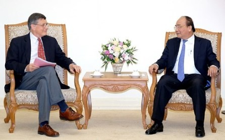 Primer ministro de Vietnam recibe a profesores de la Universidad de Havard - ảnh 1