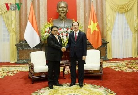 Vietnam e Indonesia estrechan relaciones  - ảnh 1