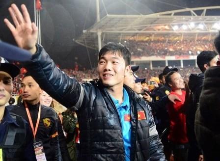 Equipo de fútbol sub-23 honrado en una gran ceremonia celebrada en el Estadio Nacional - ảnh 1