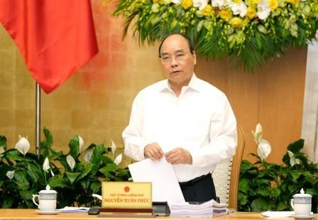 Ejecutivo vietnamita evalúa situación socioeconómica de primer trimestre de 2018  - ảnh 1