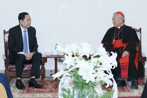 Comprometidos cristianos y protestantes vietnamitas con desarrollo nacional - ảnh 1