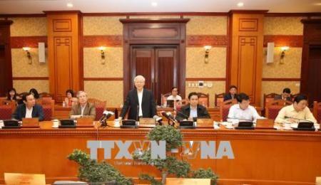 Debaten resultados del reforzamiento del Partido Comunista de Vietnam - ảnh 1