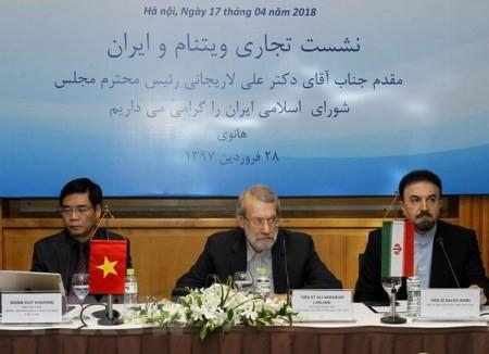 Vietnam e Irán dialogan sobre cooperación comercial  - ảnh 1
