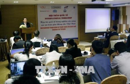 Cooperación internacional para mejorar la seguridad vial en Vietnam  - ảnh 1