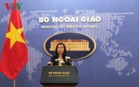 Vietnam apoya los esfuerzos por establecer la paz en la península coreana  - ảnh 1