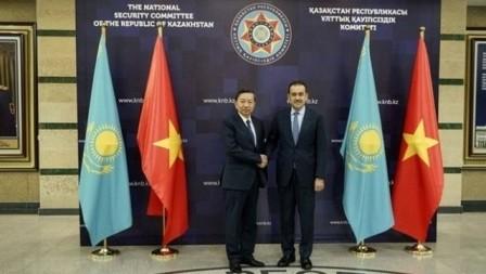 Vietnam y Kazajstán impulsan la cooperación en seguridad pública - ảnh 1