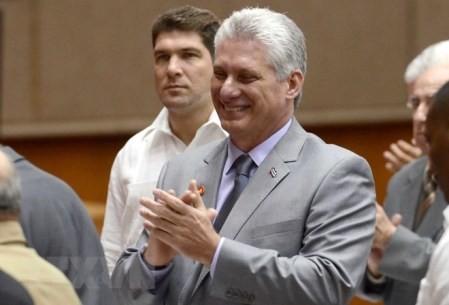 Líderes internacionales congratulan al nuevo presidente cubano  - ảnh 1