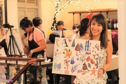 Tipsy Art, un lugar fantástico para pintores aficionados - ảnh 2