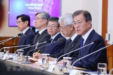 Corea del Sur finaliza agenda para cumbre con el Norte  - ảnh 1