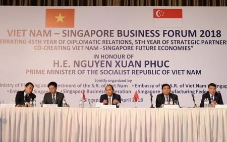Vietnam da la bienvenida a inversores singapurenses - ảnh 1
