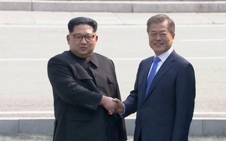 Líderes de las dos partes coreanas comienzan conversaciones  - ảnh 1