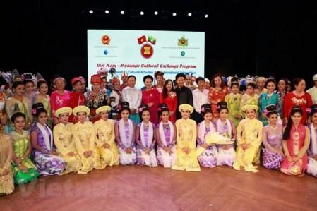 Presentan sobre patrimonios culturales de Vietnam en Myanmar  - ảnh 1