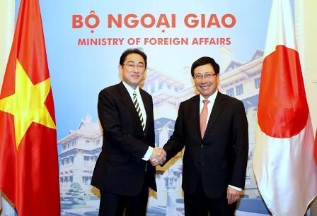 Japón listo para continuar apoyando a Vietnam  - ảnh 1