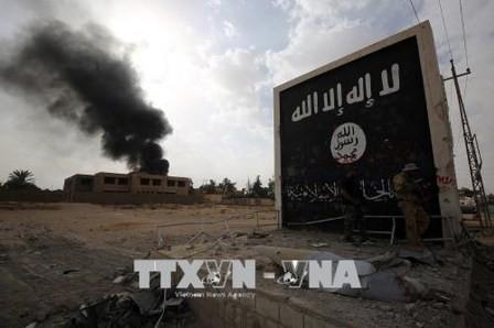 Fuerzas iraquíes bombardean a yihadistas en Siria  - ảnh 1