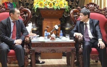 Vietnam y Kazajistán aumentan cooperación en periodismo - ảnh 1
