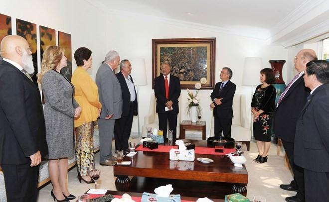 Líder del Partido del Trabajo mexicano valora las relaciones con Vietnam  - ảnh 1