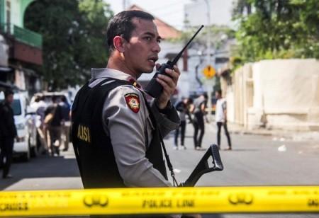 Estado Islámico reivindica la autoría de los ataques en Indonesia  - ảnh 1