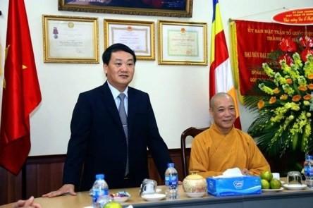 Destacan el rol de la Sangha Budista vietnamita  - ảnh 1