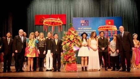 Celebran el 45 aniversario de los lazos diplomáticos entre Vietnam y Australia  - ảnh 1