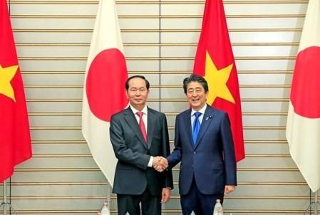 Vietnam y Japón reafirman cooperación en varios campos  - ảnh 1