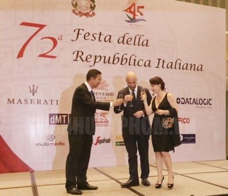 Celebran 72 aniversario del Día Nacional de Italia en Ciudad Ho Chi Minh - ảnh 1